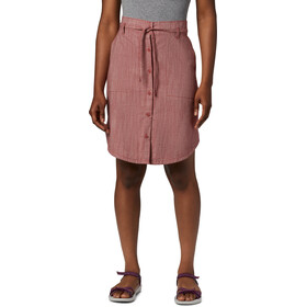 Columbia Summer Chill Skirt Women dusty crimson